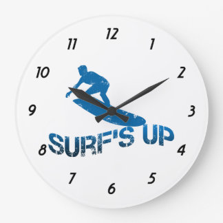 Surf's Up Clock