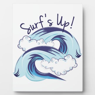 Surfs Up Display Plaques