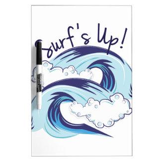 Surfs Up Dry Erase Whiteboard