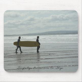 Surf's Up, Enniscrone, Co. Sligo Mouse Pad