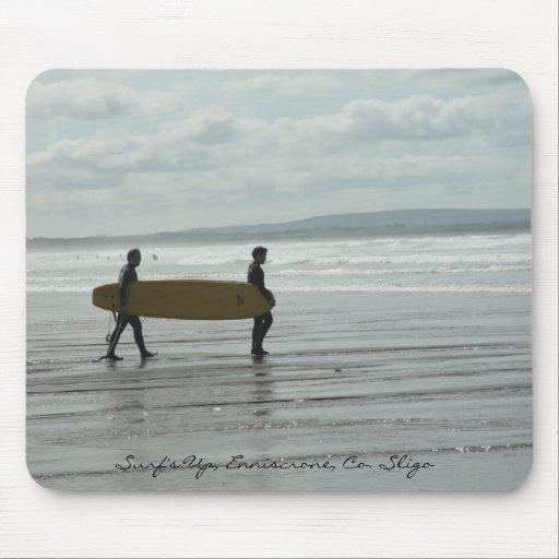 Surf's Up, Enniscrone, Co. Sligo Mouse Pads
