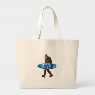 Surfs Up Large Tote Bag
