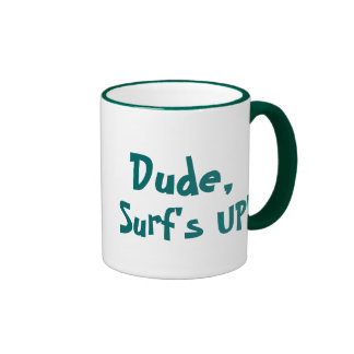 SURF'S UP! mug