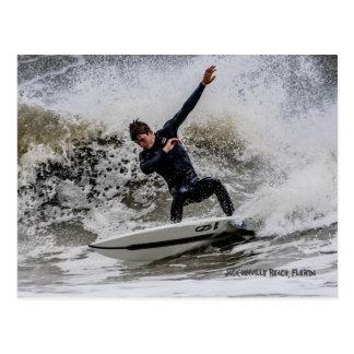 Surfs up! postcard