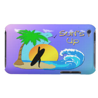 Surfs Up - Surfer Girl  Case-Mate Barely There™ iP iPod Touch Case-Mate Case