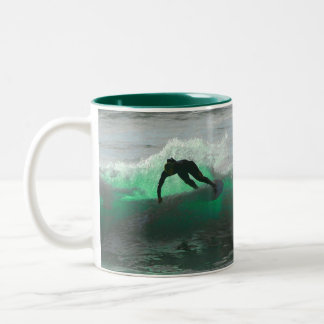 Surf's up! Two-Tone mug