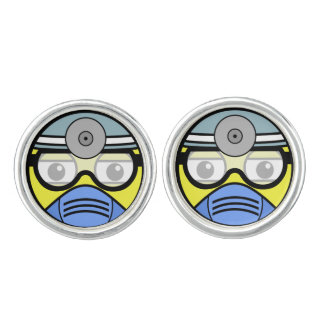 Surgeon Face Cufflinks