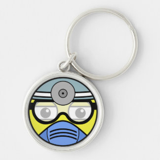Surgeon Face Key Ring