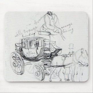 Surgeon's Carriage at St. Bartholomews Mouse Pads
