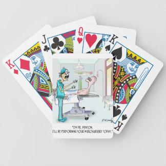 Surgery Cartoon 9369 Poker Deck