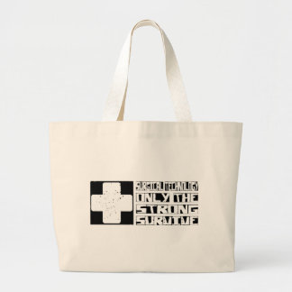 Surgical Technology Survive Large Tote Bag