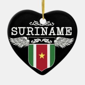 Surinam Wings Ceramic Ornament