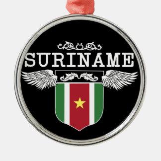 Surinam Wings Metal Ornament
