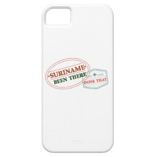 Suriname Been There Done iPhone 5 Cover