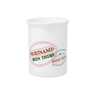 Suriname Been There Done Pitcher