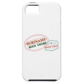 Suriname Been There Done Tough iPhone 5 Case