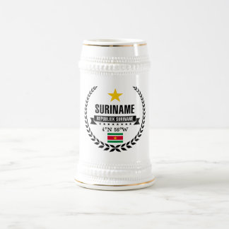 Suriname Beer Stein