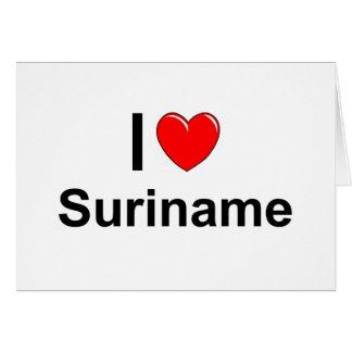 Suriname Card