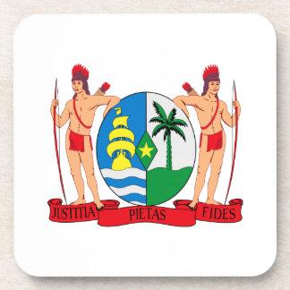 Suriname Coat of Arms Drink Coaster