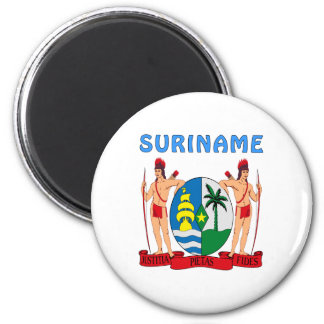 Suriname Coat Of Arms Magnet