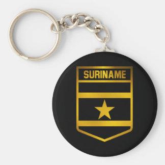 Suriname Emblem Key Ring