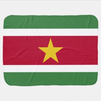 Suriname Flag Baby Blanket