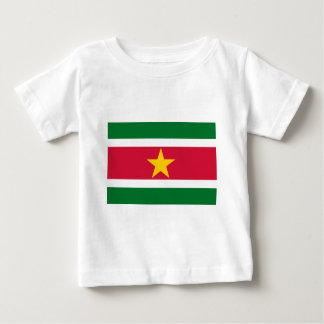Suriname Flag Baby T-Shirt