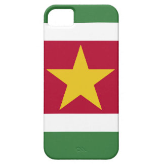 Suriname Flag Barely There iPhone 5 Case