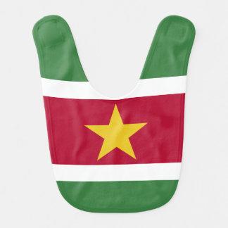 Suriname Flag Bib
