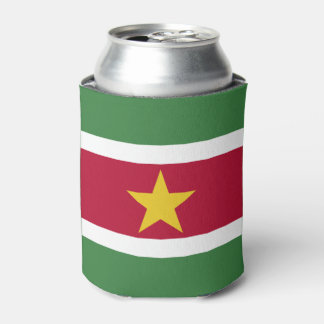Suriname Flag Can Cooler