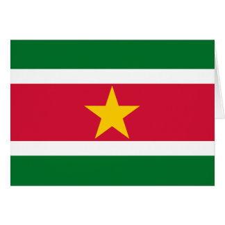 Suriname Flag Greeting Cards