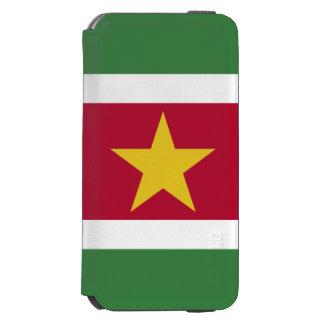 Suriname Flag Incipio Watson™ iPhone 6 Wallet Case