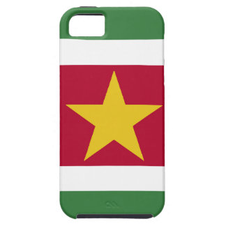 Suriname Flag iPhone 5 Cover