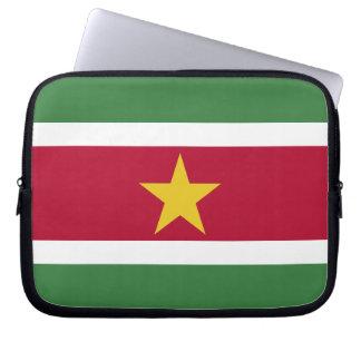 Suriname Flag Laptop Sleeve