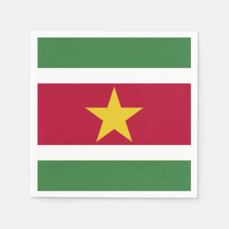 Suriname Flag Paper Napkins