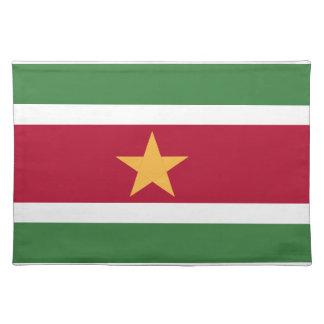 Suriname flag placemat