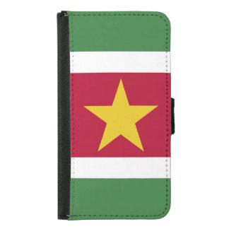 Suriname Flag Samsung Galaxy S5 Wallet Case