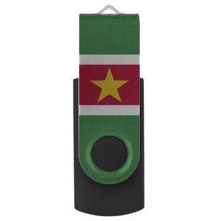 Suriname Flag USB Flash Drive