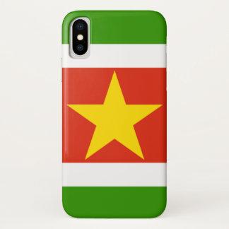Suriname iPhone X Case