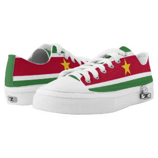 Surinamese Flag Low Tops