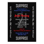 Surprise 21st Birthday Party Invitation - 21