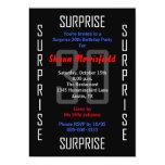 Surprise 30th Birthday Party Invitation - 30