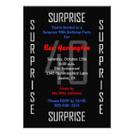 Surprise 40th Birthday Party Invitation - 40