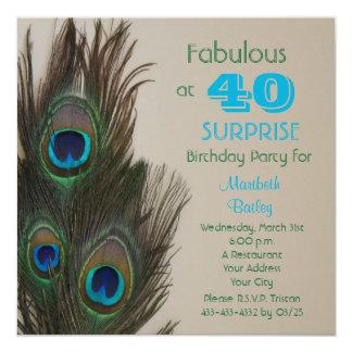 Surprise 40th Birthday Party Invitation Fabulous