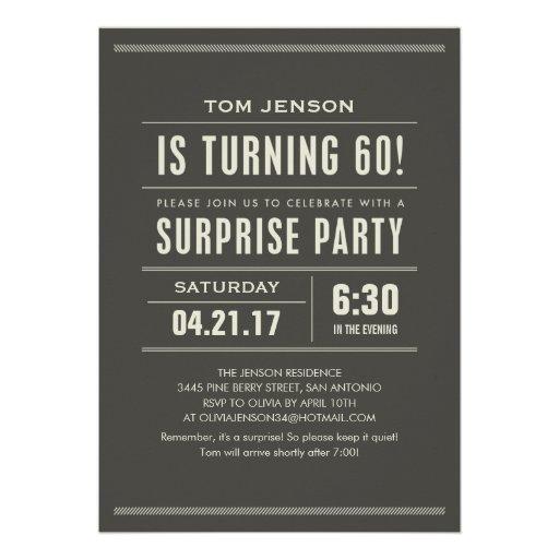 60Th Bday Invitation is nice invitation ideas