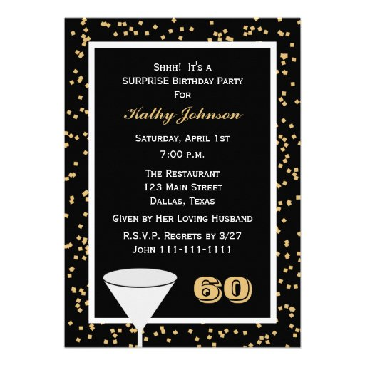 Custom 60Th Birthday Invitations as beautiful invitation template