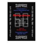 Surprise 60th Birthday Party Invitation - 60