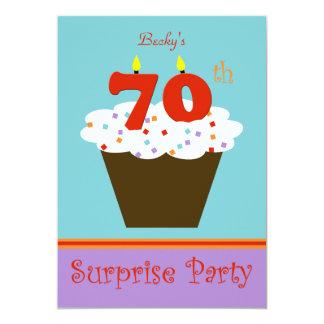 Surprise 70th Birthday Party Invitation