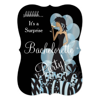 Surprise Bachelorette Girl's Party Card
