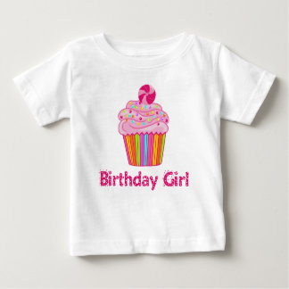 Surprise Birthday Cupcake Baby T-Shirt